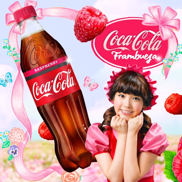 Coca Cola Frambuesa Zero: deliciosa y sorprendente