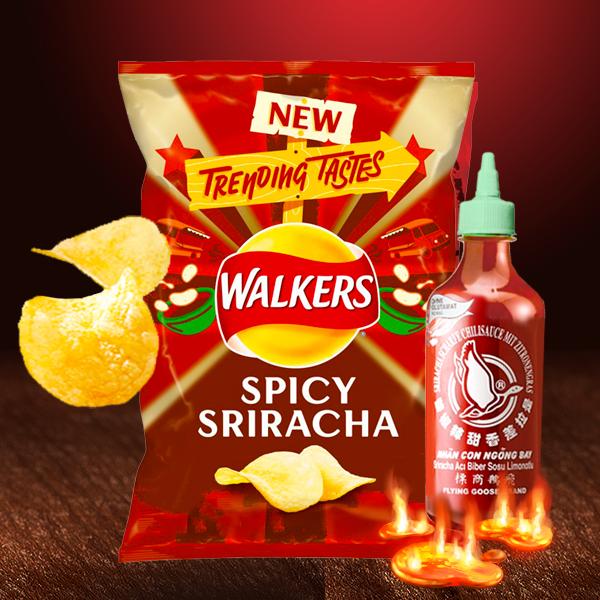 Walkers Lays Sabor Sriracha Picante