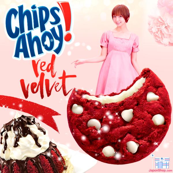 Chips Ahoy Red Velvet rellenas de Crema Mascarpone