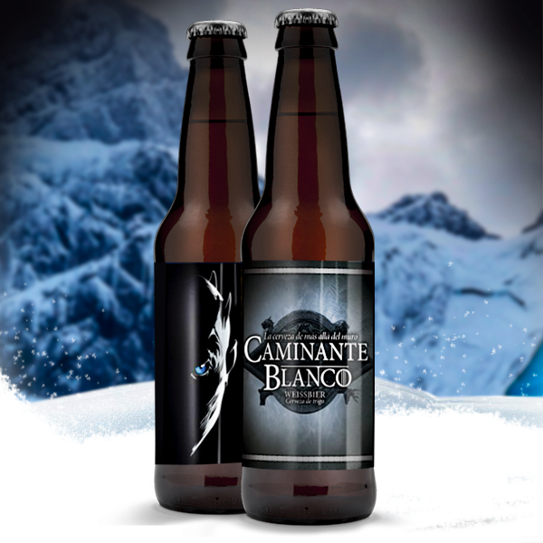 Winter is comming! Con la Cerveza Caminante Blanco