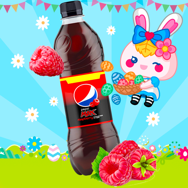 NUEVA Pepsi MAX Frambuesa