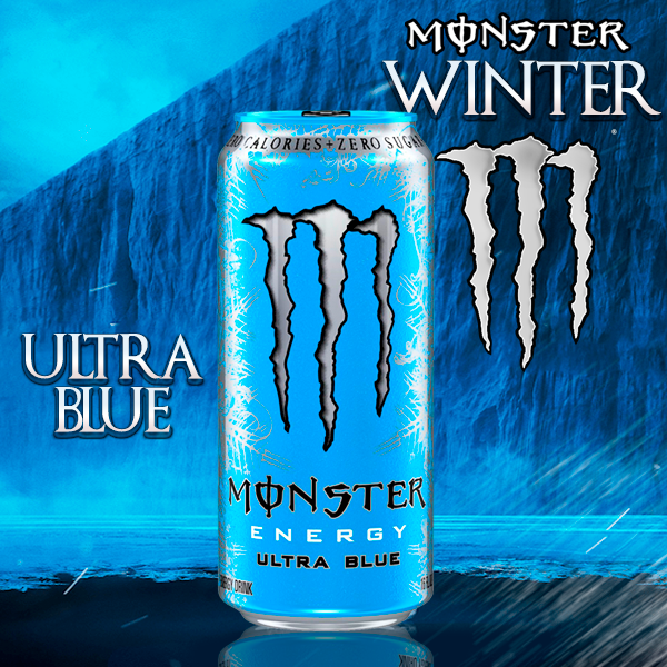 Monster de las Nieves ULTRA BLUE