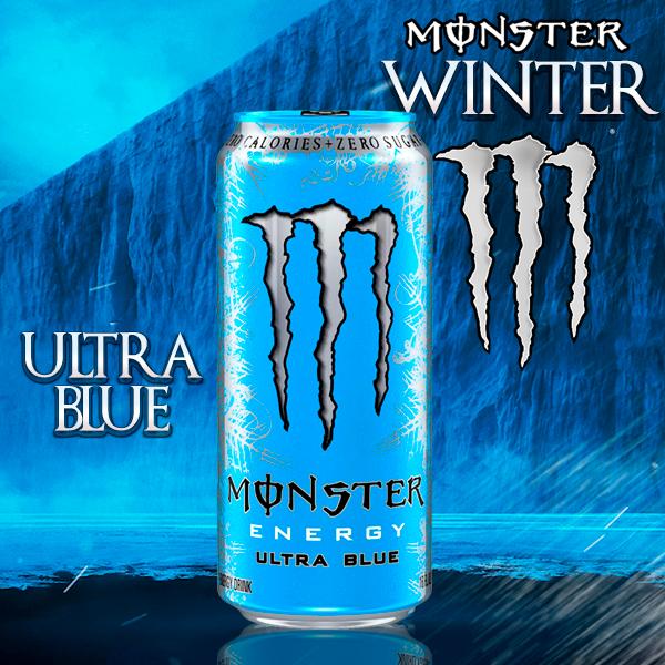 Monster de las Nieves ULTRA BLUE