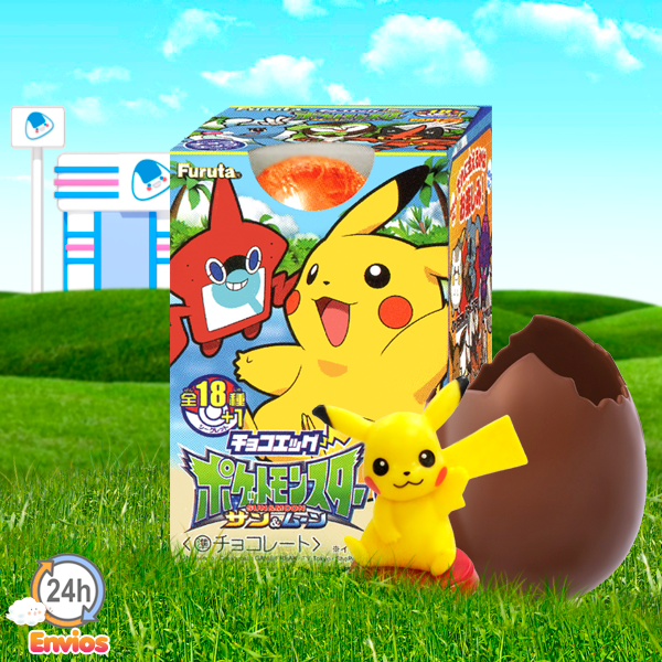Huevo Sorpresa de Chocolate POKEMON
