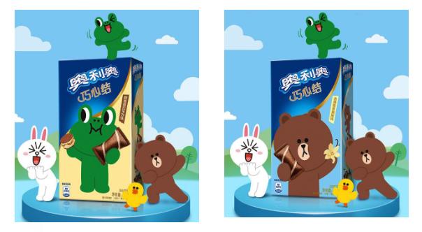 japonshop  OREO Mini Creps rellenos de distintos sabores