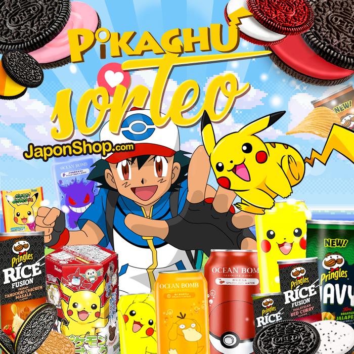 Vuelve Pikachu con SORTEO Pringles y OREO!