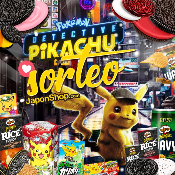 Detective Pikachu con SORTEO Pringles y OREO!