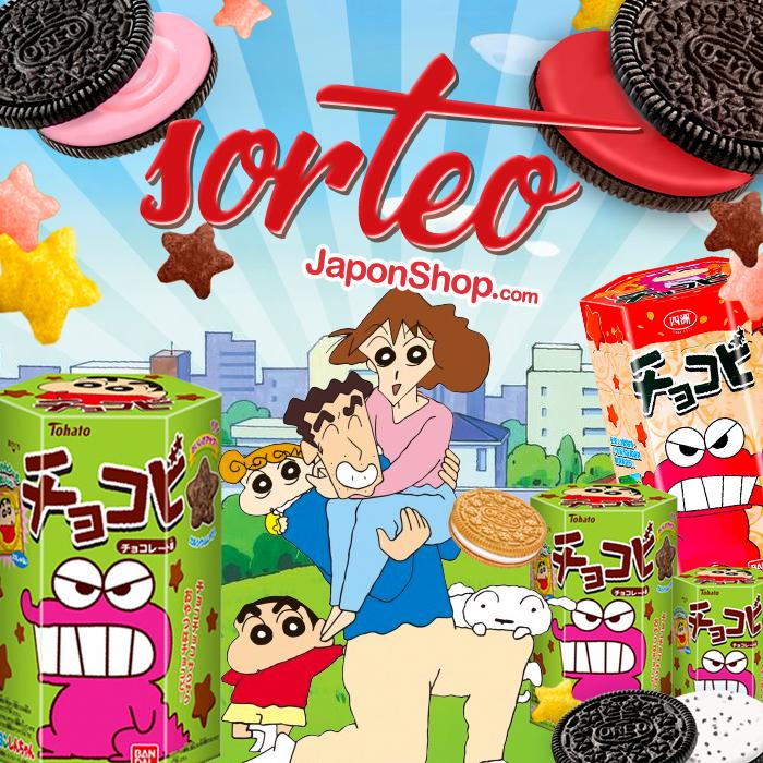 Chocobi de Ketchup con Shinchan, Oreo y Sorteo!