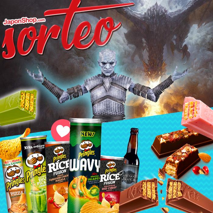 Juego de Tronos con Sorteo KitKat y Pringles RT y Comparte para ganar