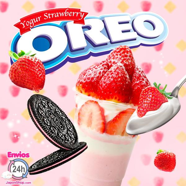 Oreo Finas Delicata de Yogur con Fresas