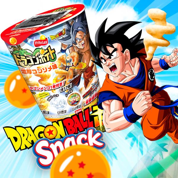 Snack Dragon Ball Sabor Pollo NUEVOS diseños