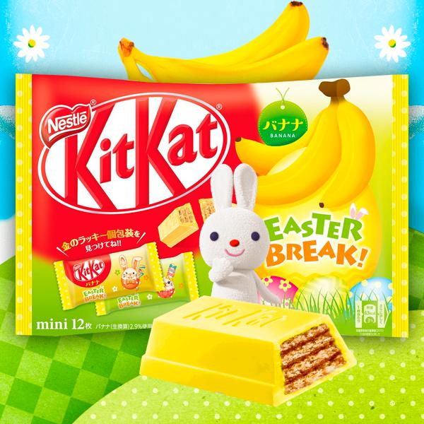 Kit Kat Bunny Banana