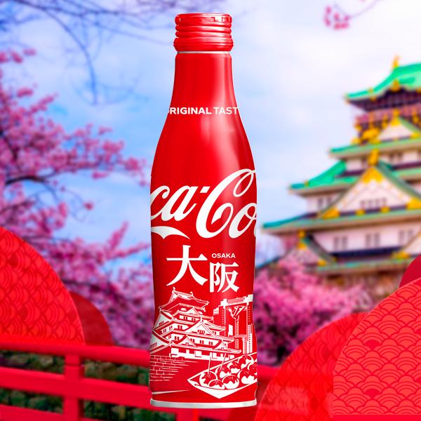 Coca Cola Japonesa ED Limitada Osaka