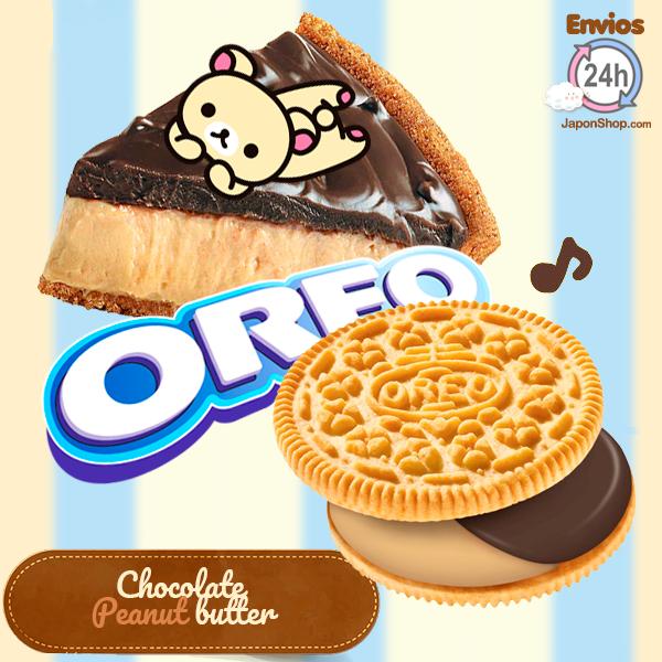 Nuevas Oreo rellenas de Crema de Tarta de Cacahuete y Chocolate