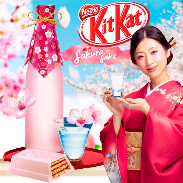 KIT KAT Japan Chocolatory Sake de Sakura
