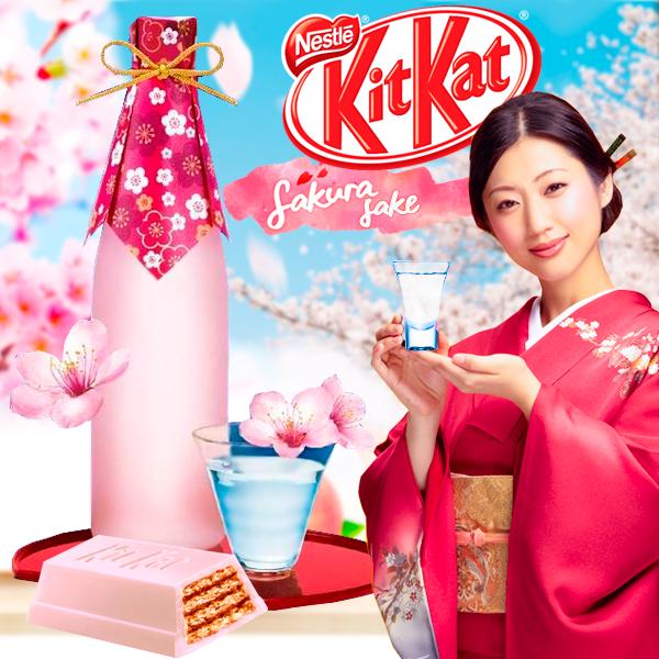 KIT KAT Japan Chocolatory Sake de Sakura