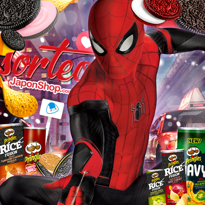 Spiderman Far From Home SORTEO Pringles y Oreo!