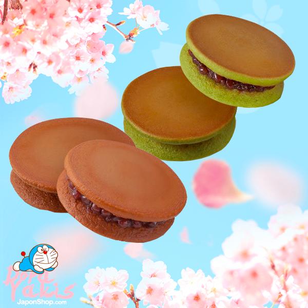 japonshop  Big Dorayakis rellenos de crema de sabores