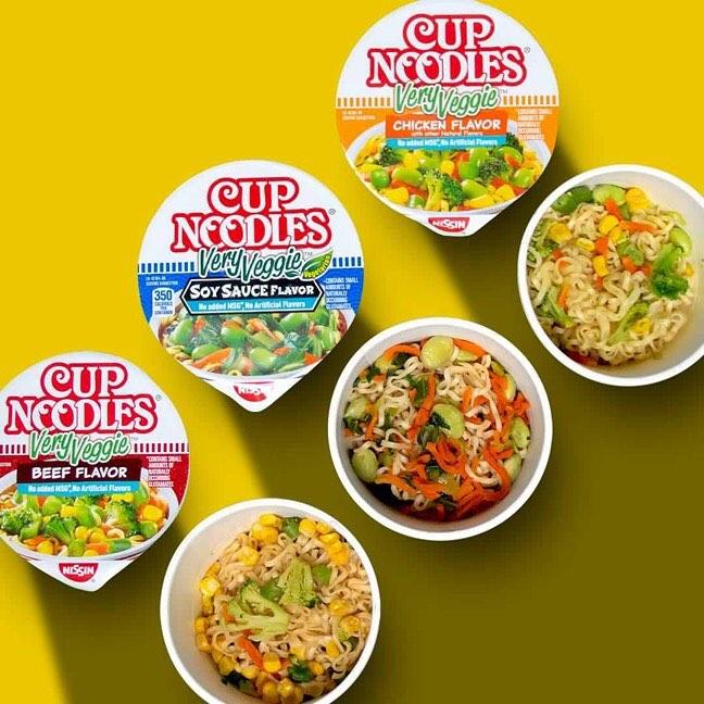 Combini Lovers comida japon japonshop  Nissin Cup very Veggie con Edamame!