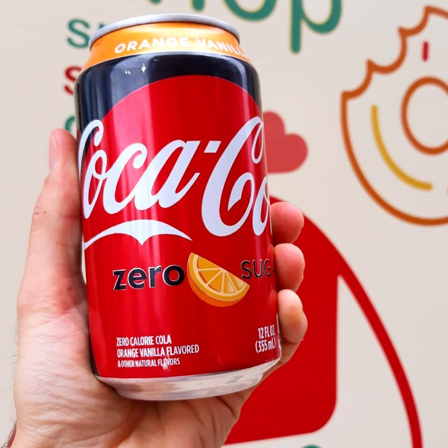 Vámonos! Coca Cola NARANJA X VAINILLA