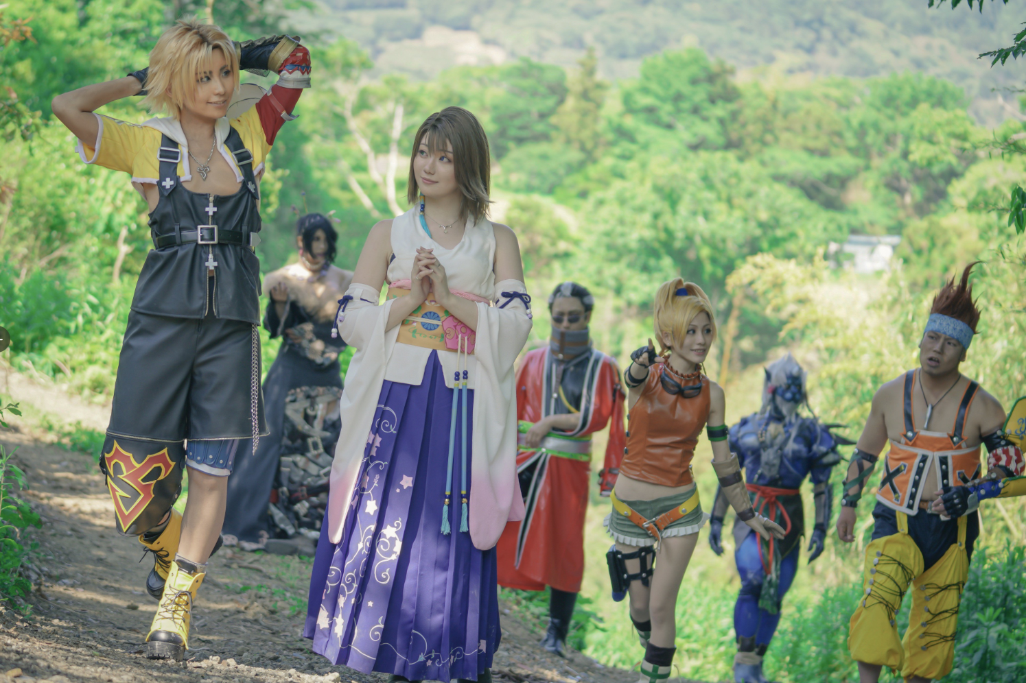 El cosplay grupal ABSOLUTO y DEFINITIVO de Final Fantasy X