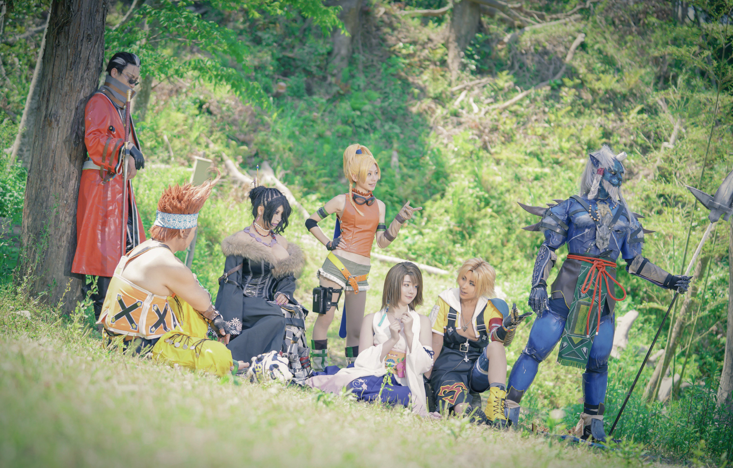 actualidad japon  El cosplay grupal ABSOLUTO y DEFINITIVO de Final Fantasy X