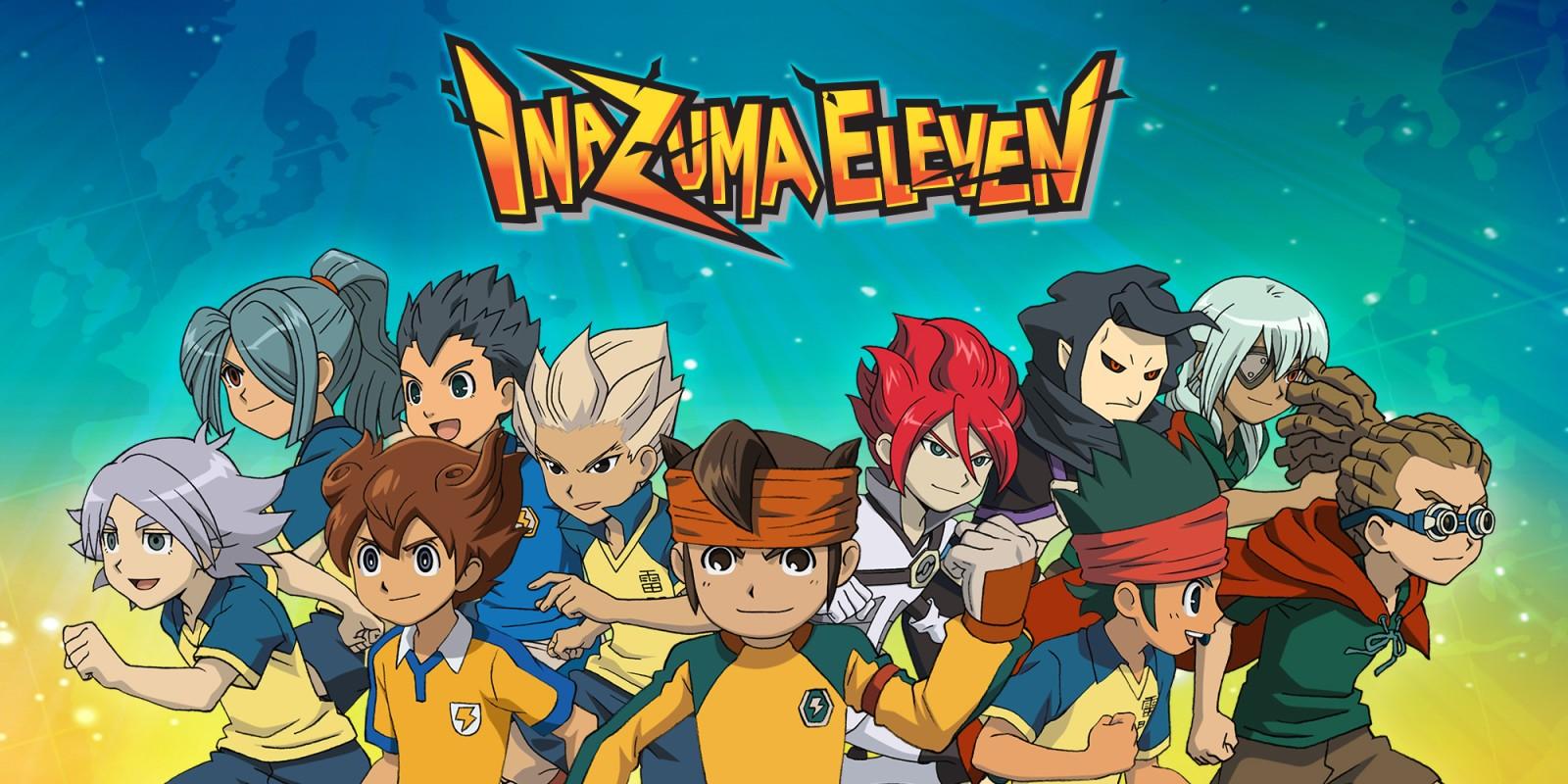 Inazuma Eleven Café y 11 años con el esférico