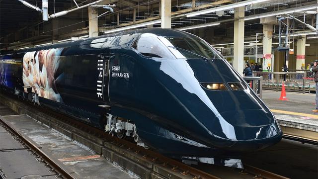 Como meter un museo en el Tren Bala de Japón