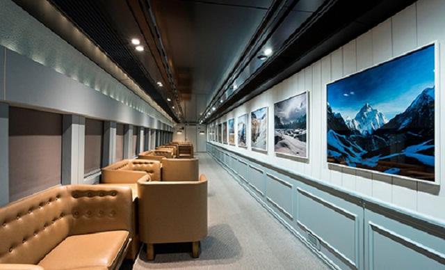 actualidad curiosidades japon japonshop  Como meter un museo en el Tren Bala de Japón