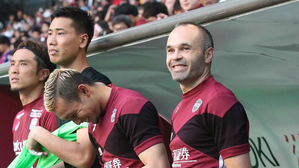 actualidad japon  Iniesta en el club Vissel Kobe de Japón
