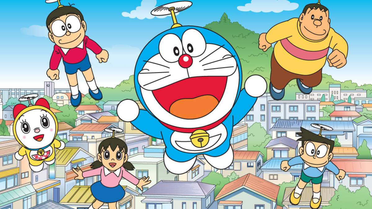 Dorayaki Cookies con Doraemon