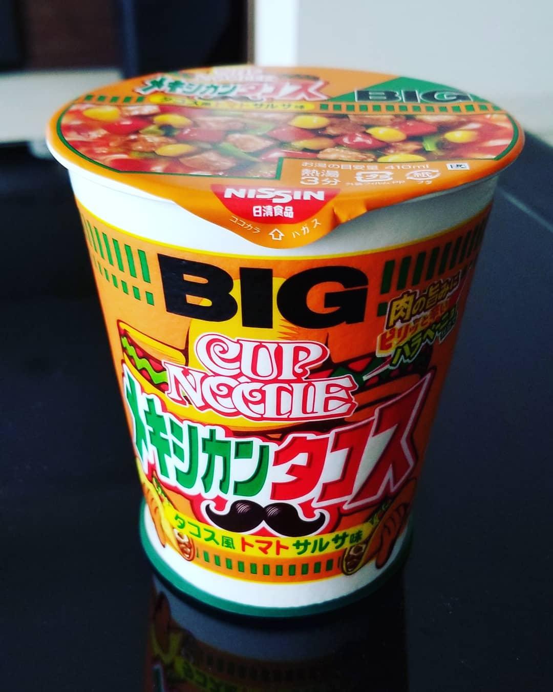 Nissin Cup Noodles Taco Mejicano