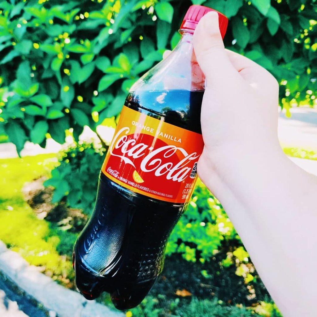 Coca Cola Naranja Vainilla