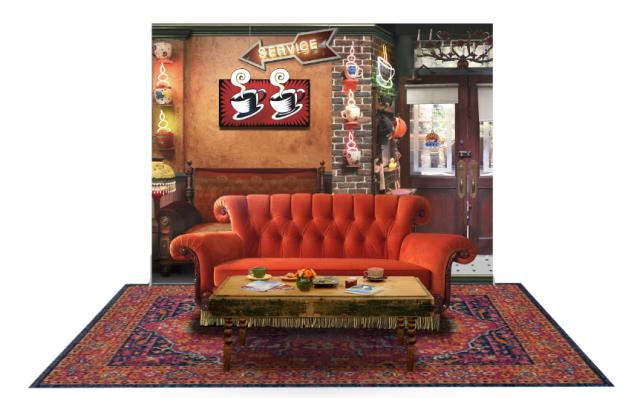 Friends Cafe 25 Años