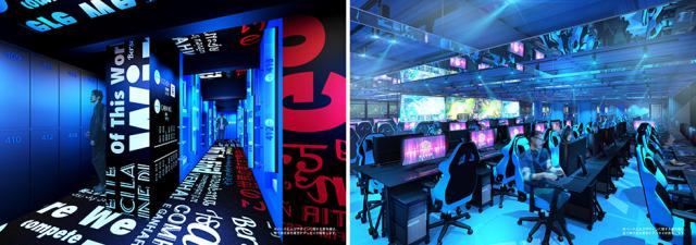 curiosidades japon  E-ZONE el primer hotel en Japón dedicado a los E-Sports