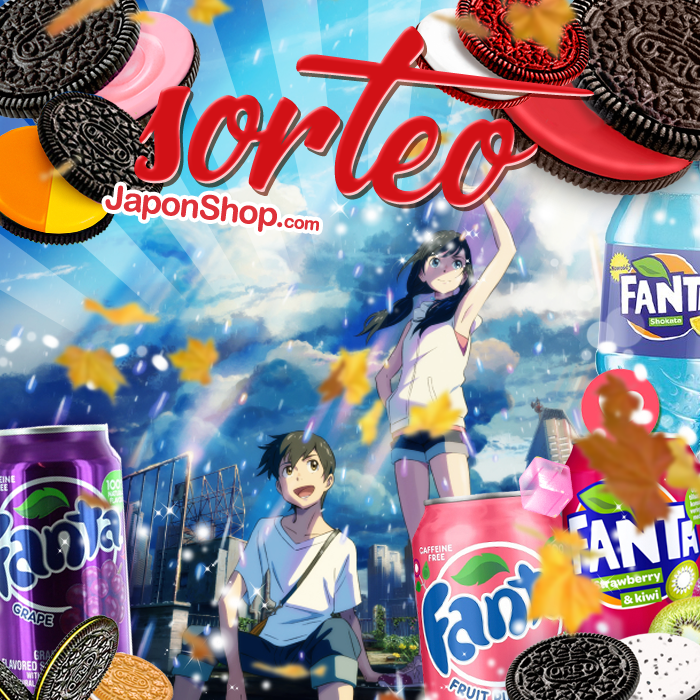 Weathering With You SORTEO Fanta y Oreo