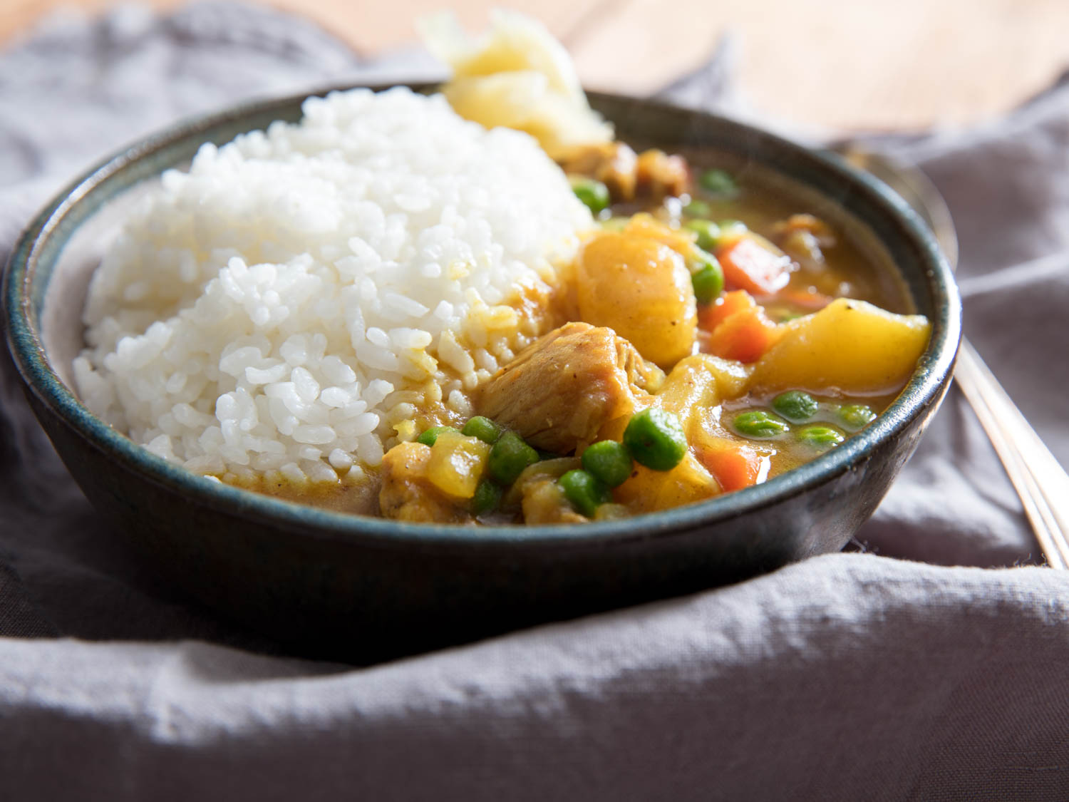 Curry japones