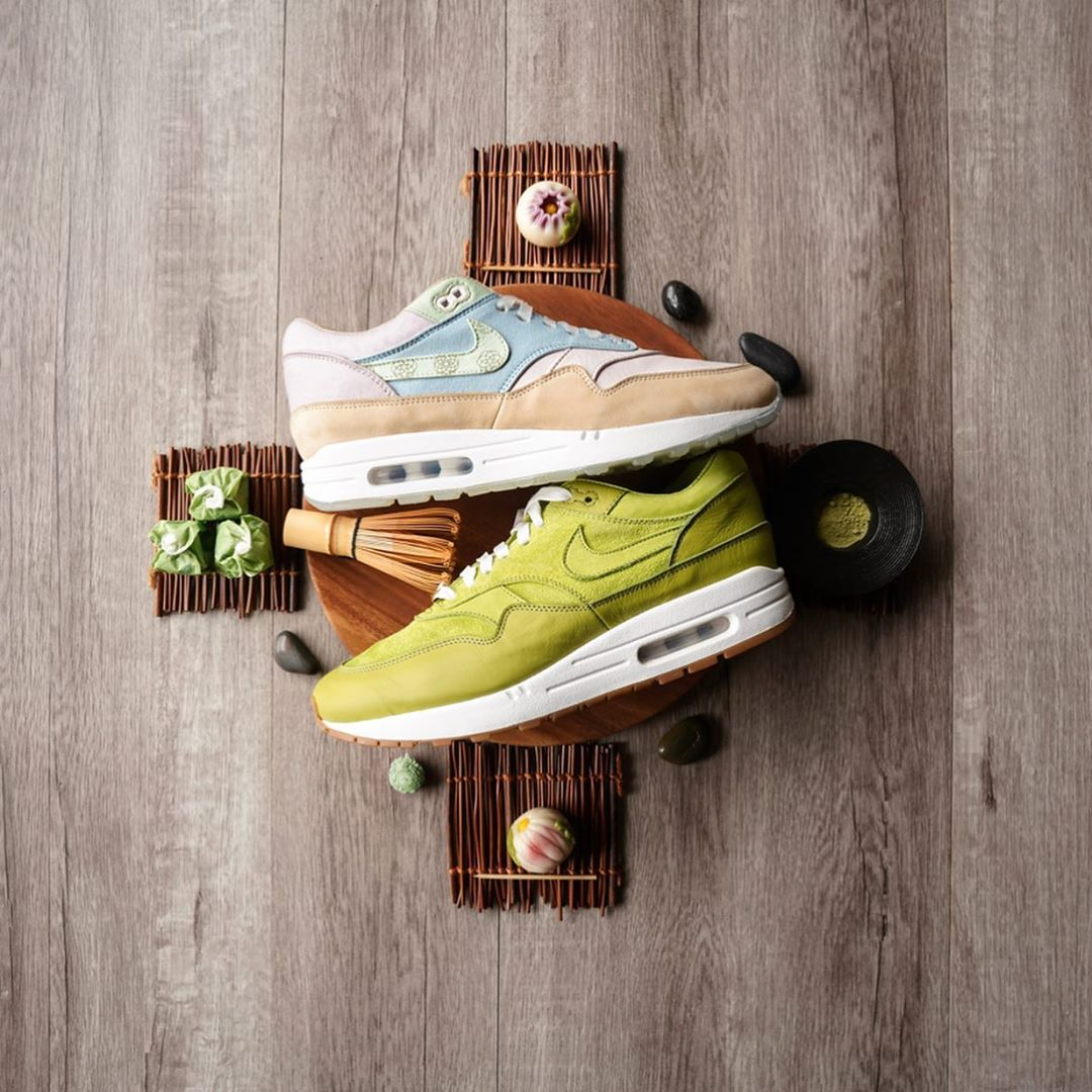 Nike Air Matcha Wagashi Style custom