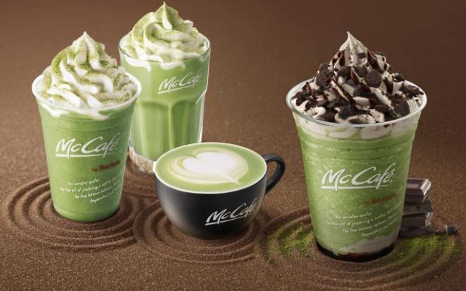 McDonalds X Matcha X Oreo para unos frapuccinos que quitan el mareo!