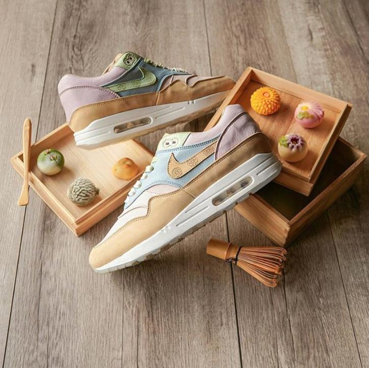 curiosidades japonshop  Nike Air Matcha Wagashi Style custom