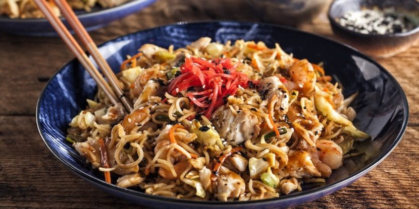 comida japon japonshop  Yakisoba POWER UP con salsa Yakisoba y a disfrutar!