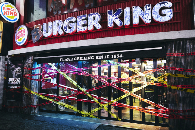 actualidad comida japon  Especial Halloween Burger King Shibuya Ghost Store