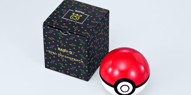 Sin categoría  Casio Baby-G edición especial Pokemon