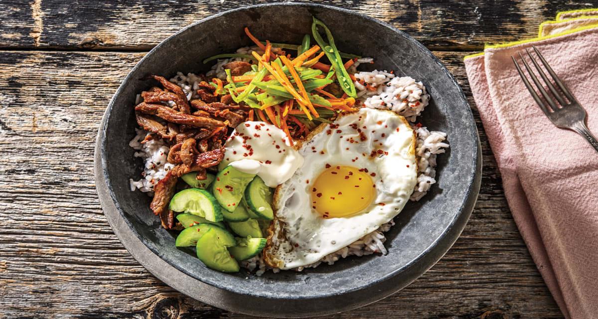 comida corea japonshop  Bibimbap arroz con cosas coreano que mola mil!