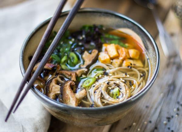 comida japon japonshop  Itadakimasu con Japonshop! Fideos Soba con Surimi, Sopa de Pato y Pollo