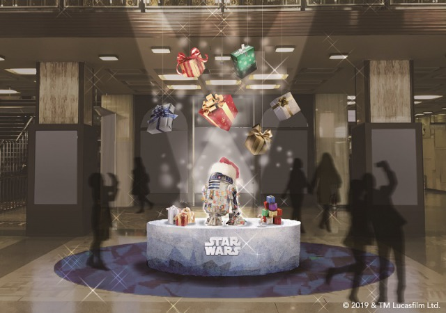 actualidad japon  Star Wars Rise of Skywalker Marunouchi Christmas en Japón