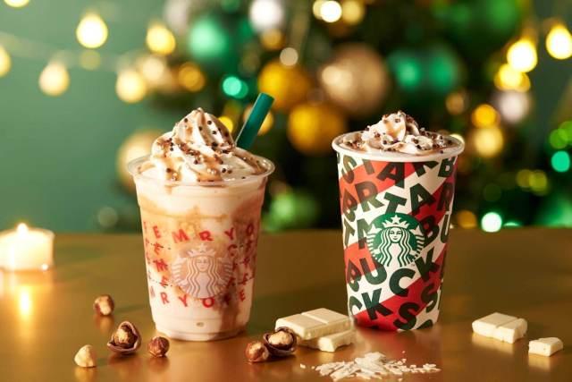 Starbucks nuevo frapuccino de Navidad y merchan navideño!!