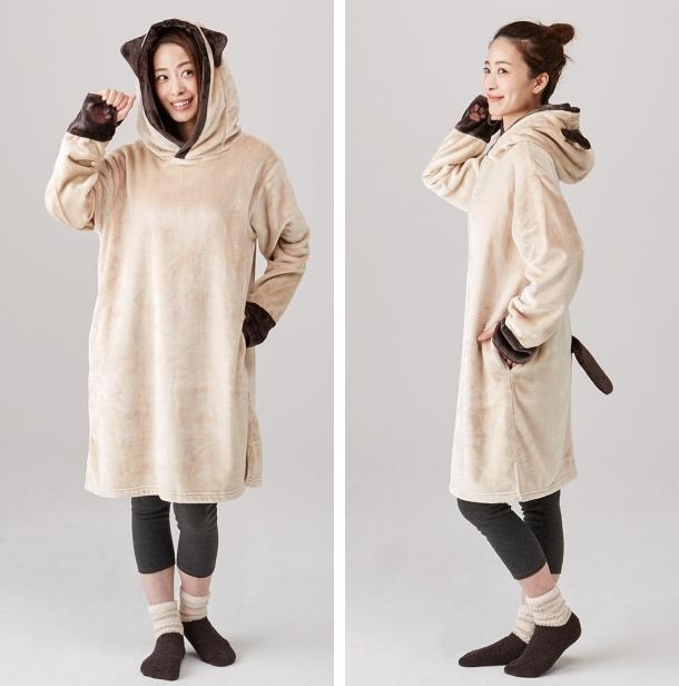 curiosidades japon japonshop  Neko pijama y chocolate calentico COMBO perfect para tardes de frío