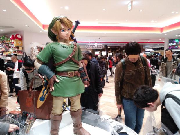 actualidad curiosidades japon  Nintendo Store de Shibuya Parco en Japón - Mario y Link
