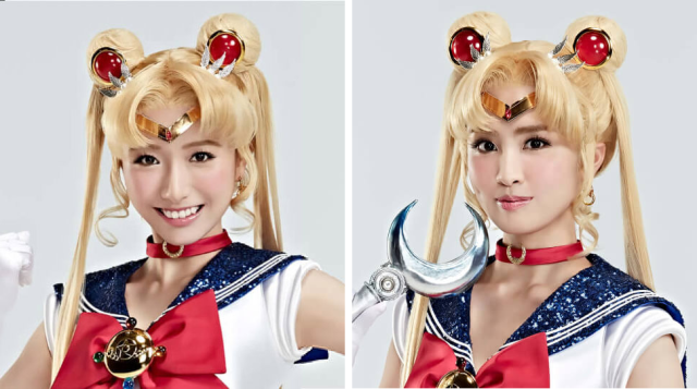 japon  Finde en el Sailor Moon restaurant Live Action